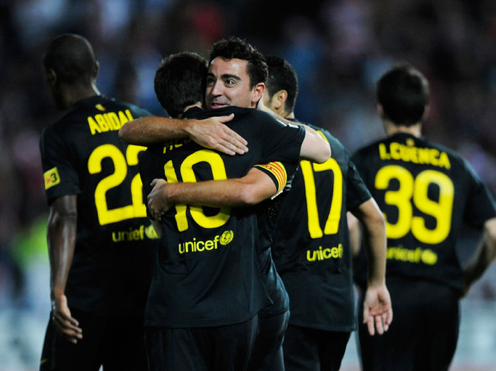 |HD|Xavi Free kick Goal against Granada